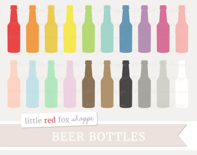 Beer Bottle Clipart Soda Clip Art Root Beer Cocktail Glass image 0