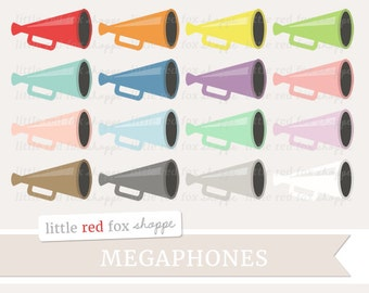 Megaphone printable etsy megaphone clipart loudspeaker clip art speaker cheerleading stadium sports bullhorn horn cute digital graphic design thecheapjerseys Gallery