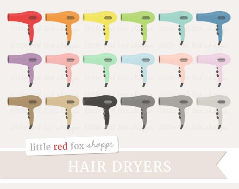 Hair Dryer Clipart Blow Dryer Clip Art Hairdryer Salon Make image 0