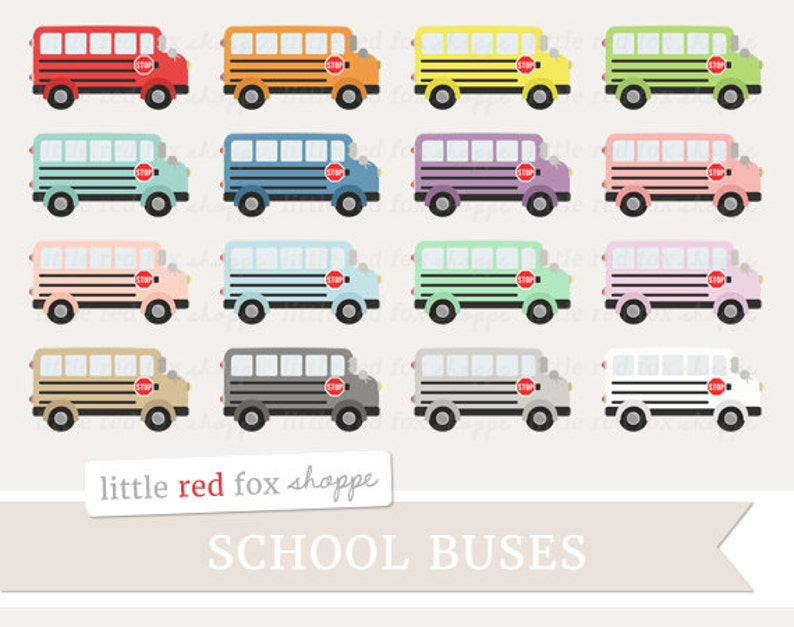 School Bus Clipart Transportation Clip Art Elementary Teacher image 0