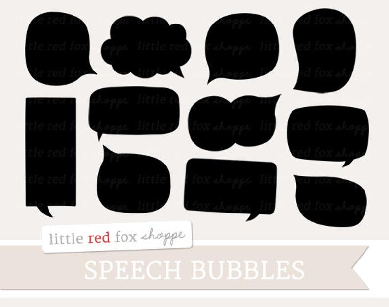 Speech Bubble Clipart Thought Cloud Clip Art Speech Cloud image 0