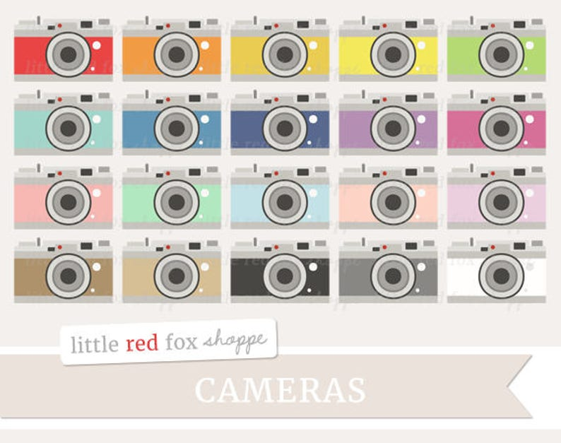 Camera Clipart Vintage Camera Clip Art Photo Clipart image 0