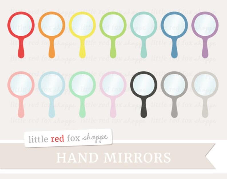 Mirror Clipart Hand Mirror Clip Art Bathroom Makeup Cosmetic image 0