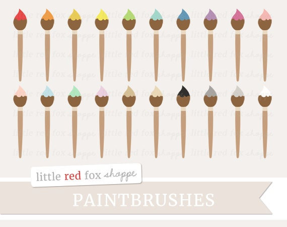 Paintbrush Clipart Painting Clip Art Paint Brush