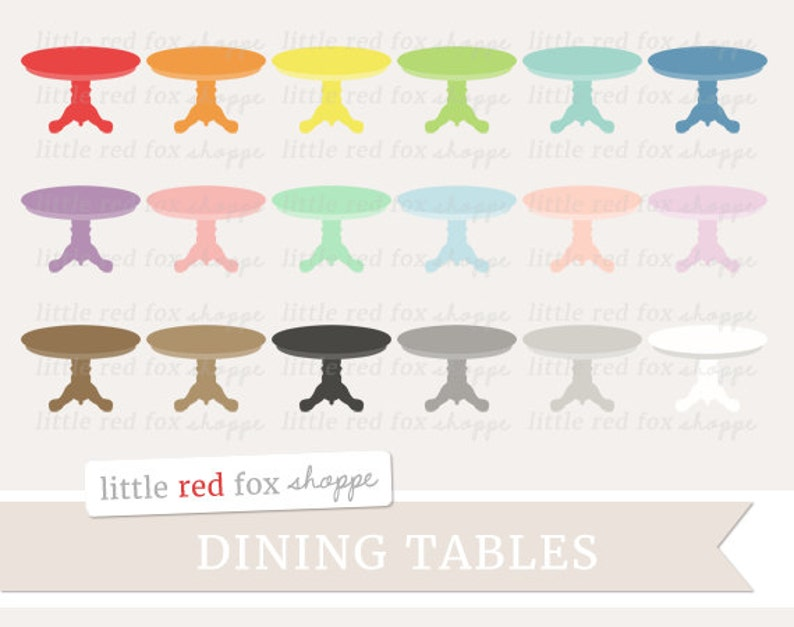 Terrific Dining Table Clipart Furniture Clip Art Kitchen Dinner Table House Household Home Icon Cute Digital Graphic Design Small Commercial Use Interior Design Ideas Helimdqseriescom