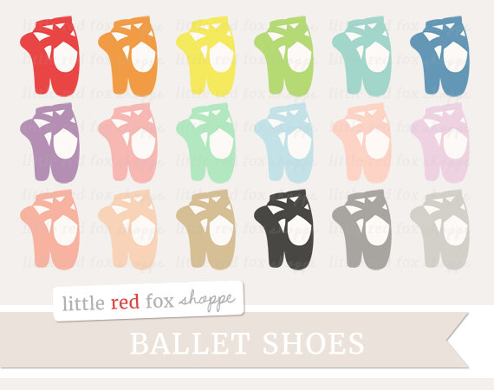 ballet shoe clipart, pointe shoe clip art ballerina dance art artistic slipper satin shoes cute digital graphic design small com