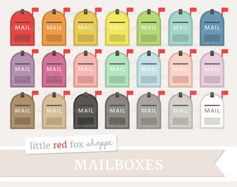 Mailbox Clipart Mail Box Clip Art Post Office Postal Service image 0