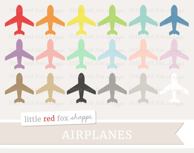 Airplane Clipart Plane Clip Art Transportation Travel image 0