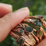Mineral Ring | Minerals | Raw Crystals | Crystal Jewelry | Electroformed Rings | Crystal Ring