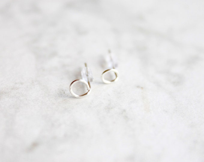 Allende Studs | Handmade In Sterling Silver