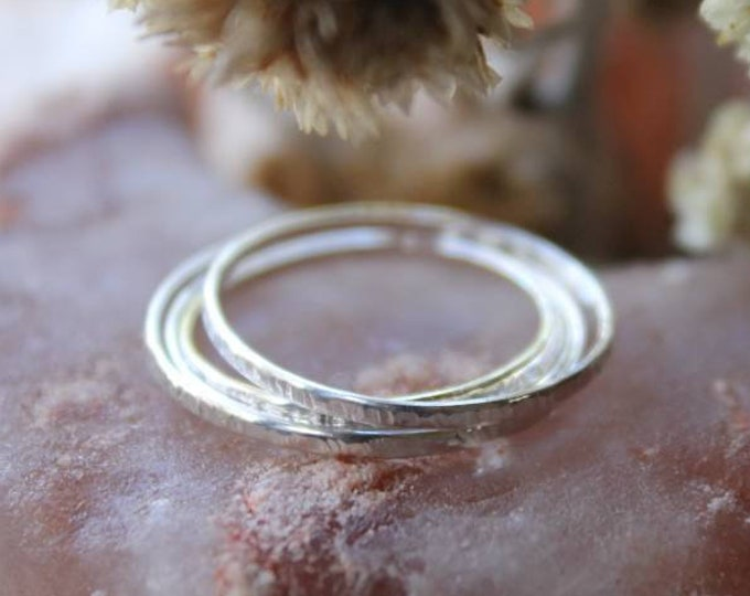 Ultra Thin Sterling Silver Ring | Handmade In Sterling Silver