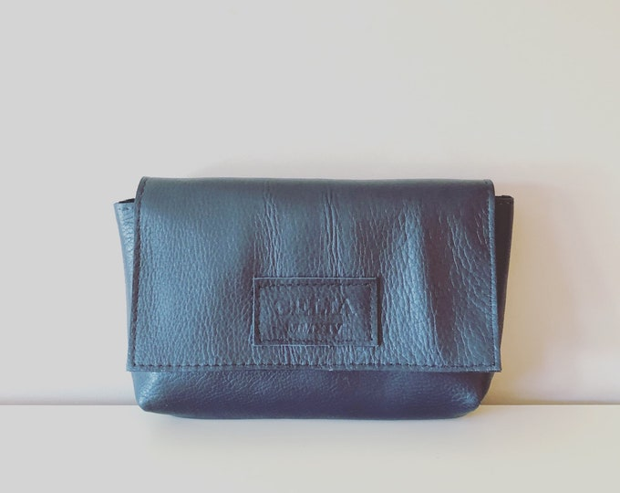 Grace Clutch/Handmade Leather Clutch/ Small Leather Bag/