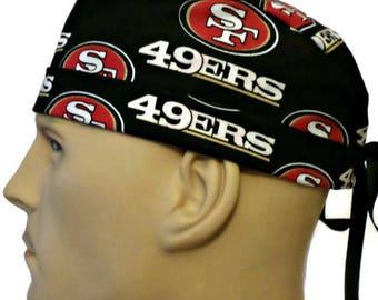 6a047547 49ers scrub hat | Etsy