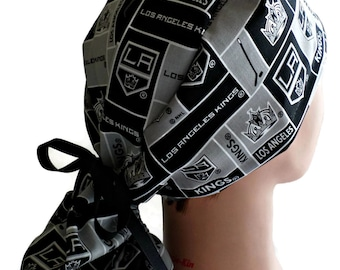 Chemo Cap Surgical Cal L A Kings Scrub Cap Headwear