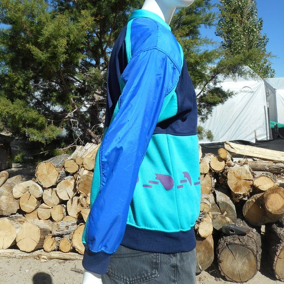 80's Vintage Retro Blue Skiwear Sweatshirt (Unise… - image 7