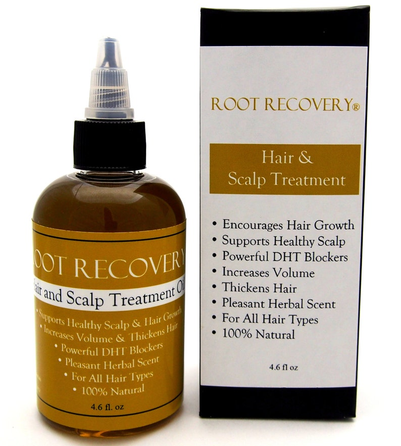 Root Recovery ® Hair Growth Oil Scalp Treatment DHT