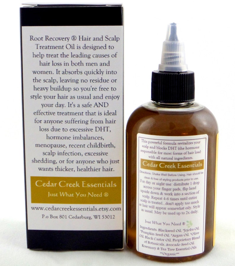 Root Recovery ® - Hair Growth Oil - Scalp Treatment - DHT Blocker - Hair  Loss - Alopecia - Growth Serum for Man or Woman