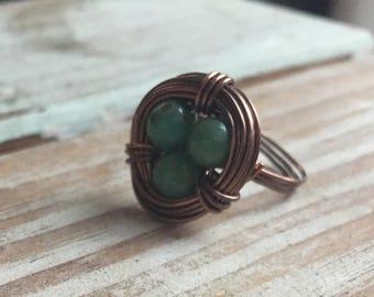 Robbin's Nest Ring