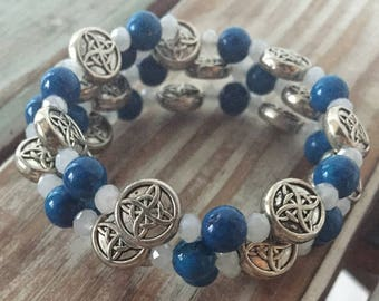 Celtic Coiled Bracelet