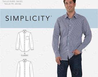 X-Future Mens Plus Size Floral Print Long Sleeve Gilding Slim Button Up Dress Work Shirt