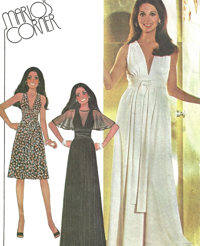 94c5b09720df McCalls 4796 Sewing Pattern Misses Vintage 70s Marlo Thomas | Etsy