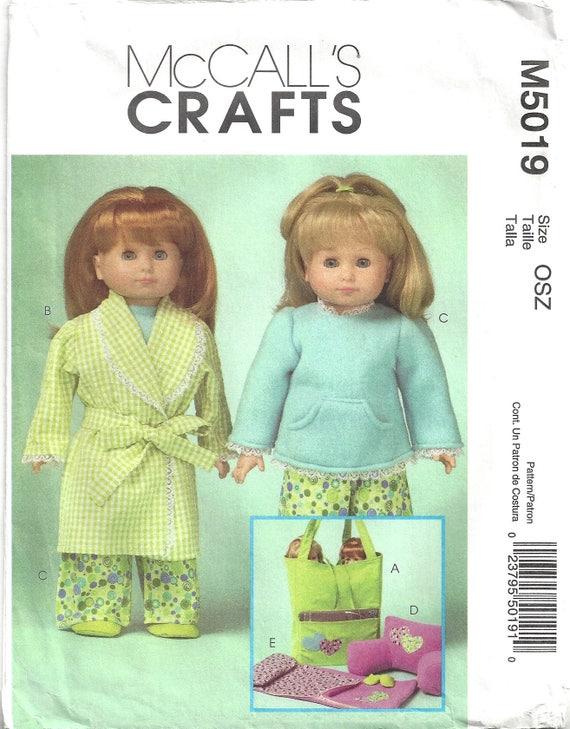 McCalls M5019 Schnittmuster für 18 Puppenkleidung und | Etsy