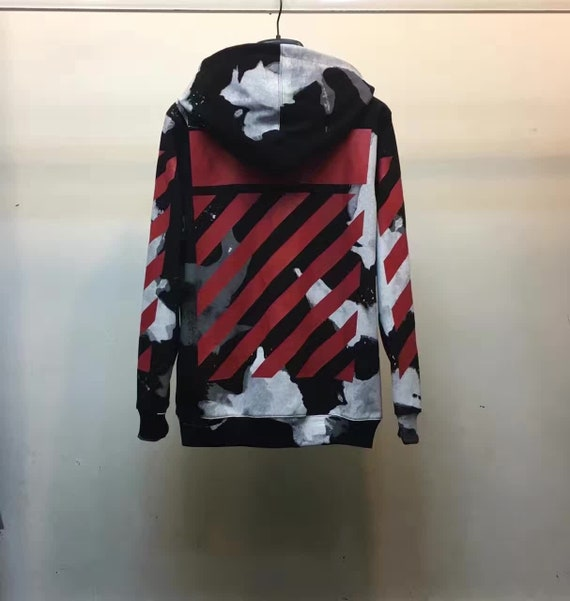Off-white Liquid Spots Printed Sweater  a8c7743516953