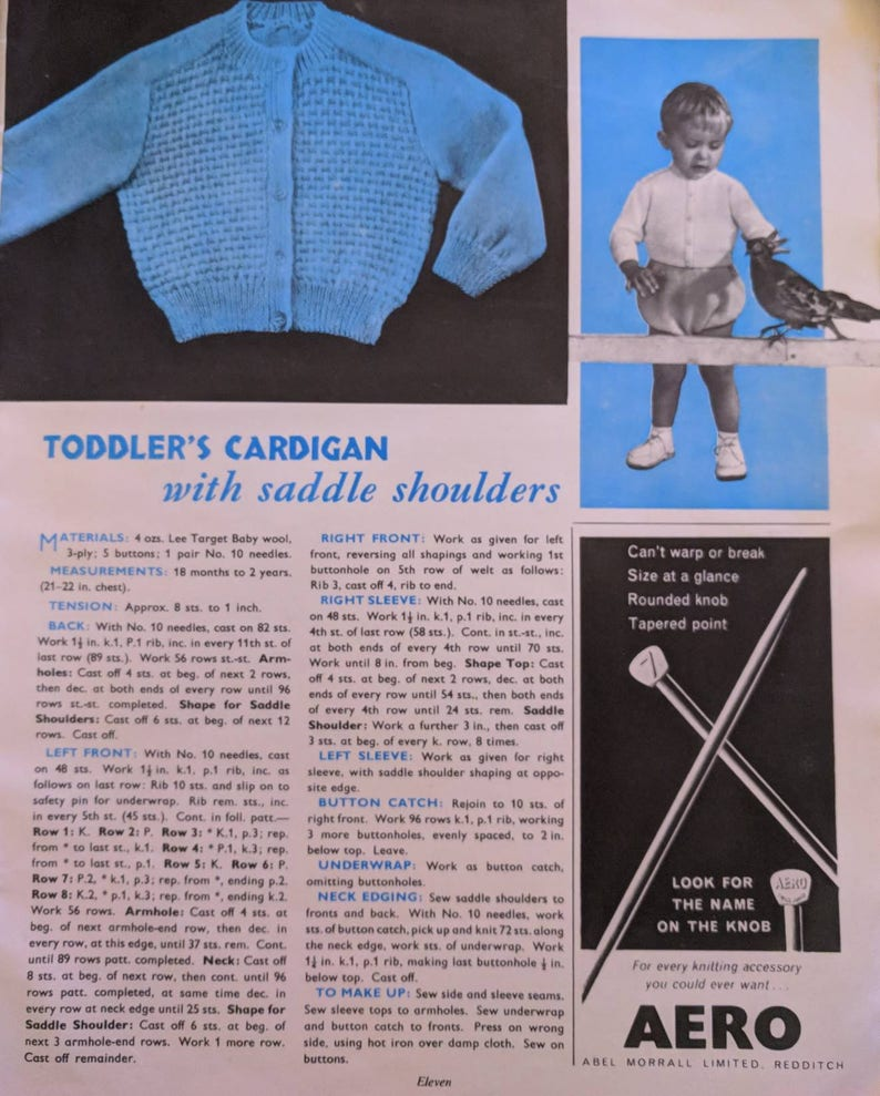 f9fc54613c9 Pins and Needles No 117 October 1962 Vintage Crafting and   Etsy