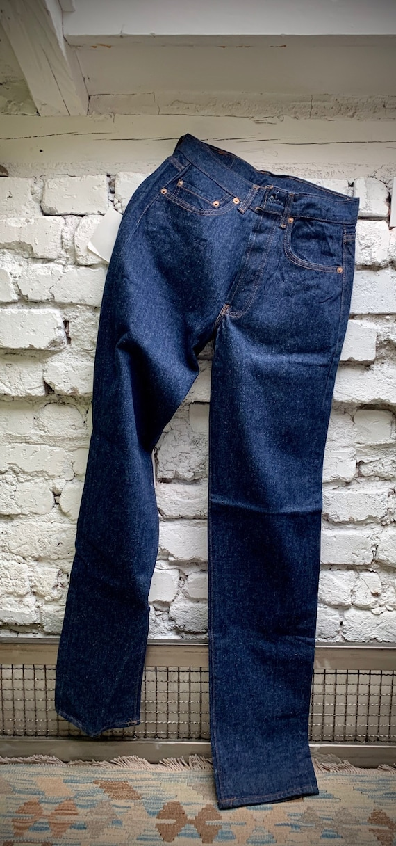 DEADSTOCK Vintage Levis 501 Jeans Made in Great Br