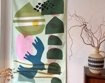 Wandkleed Still flying. 90x150 cm, canvas struktuur, wanddecoratie, huisinrichting, voor aan je muur, bedrukte stof
