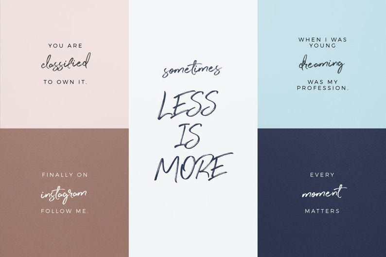 Modern Handwriting Font | Calligraphy Typeface | Handwriting Font Download  Perfect Sunset | Hand Lettered Fonts