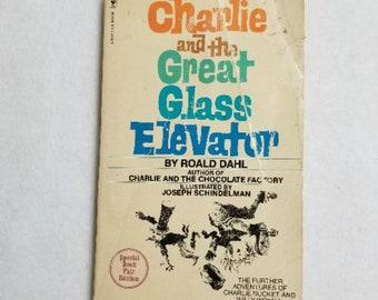 Charlie and the Great Glass Elevator Roald Dahl dollhouse miniature books