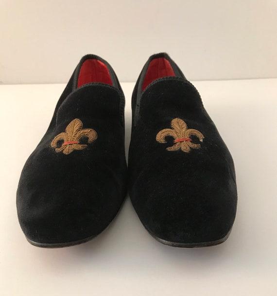 Rare Vintage Men's SULKA Velvet Slippers
