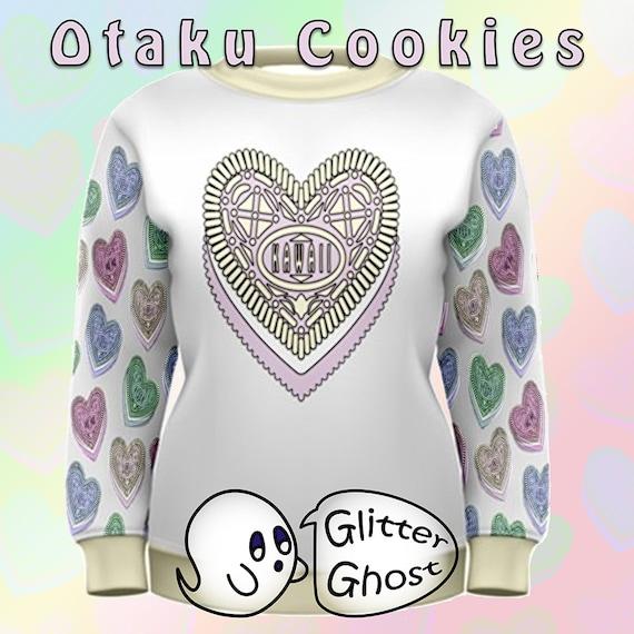 Otaku Cookies - Sweatshirt - jaune - 5XL XS à 5XL - - Kawaii - Pastel Goth 70a1d9