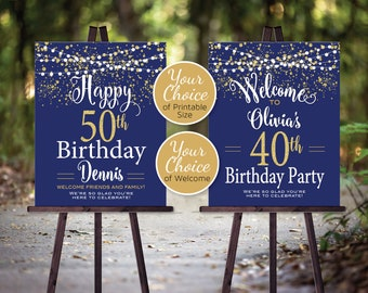 birthday welcome etsy