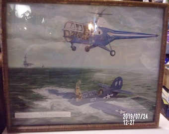 Ready To be Framed! Igor Sikorsky Helicopter 1935 Patent Print