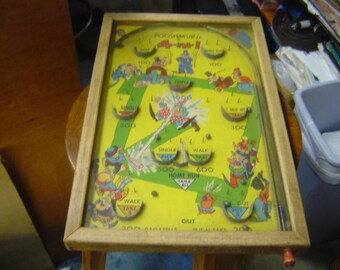 Vintage Pinball Etsy