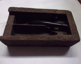 Betel nut box preparation nepal,thailand hand carved wood