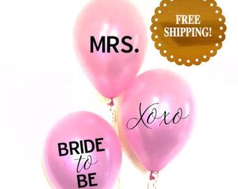 Bridal Shower Balloons. Bridal Shower Decorations. bride to be balloons. Bridal Shower decor. bachelorette party decorations. Party balloons