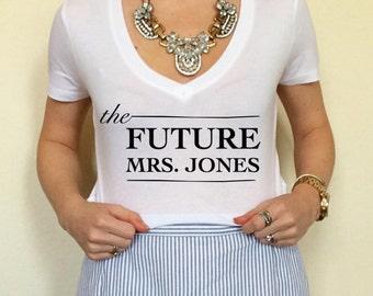 F2 Future Mrs Tee, Future Mrs Shirt, Bride Tee, Bride To Be Tee, Wifey Tee, Future Mrs. Tee, Future Mrs. Shirt, Engagement Shirt, Engaged Te