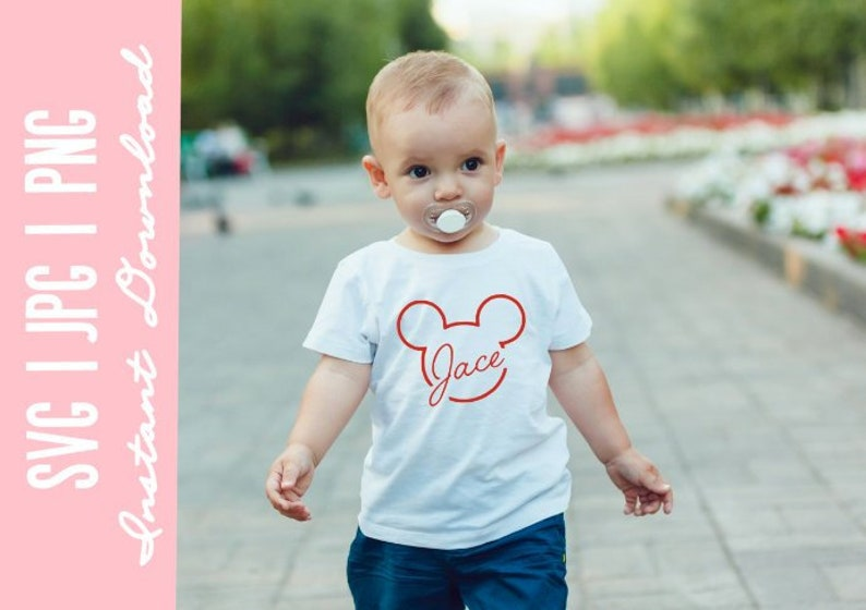 b60f403a0e7 Mickey Mouse SVG. Disney SVG. Kids Disney. DIY Disney Shirts.