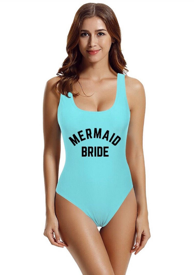 d72260863a06f Mermaid Bride Swimsuit. Bride Swim. Bride Suit. Mermaid | Etsy
