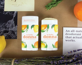 All Natural Deodorant that really works!!