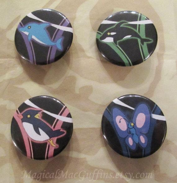 Free Iwatobi swim club buttons