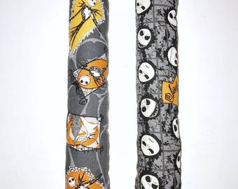 "2 Large Nightmare Before Christmas Cat Toy, 13"" Kitty Kickers Toys, Nightmare Before Christmas, Catnip Kick Stick Toys, Cat Catnip Toy"