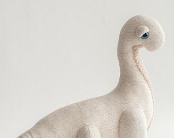 Big Albino Diplo - Handmade Stuffed Animal