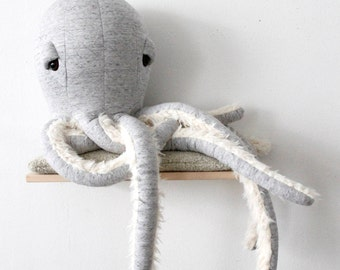 Big GrandPa Octopus - Handmade Stuffed Animal