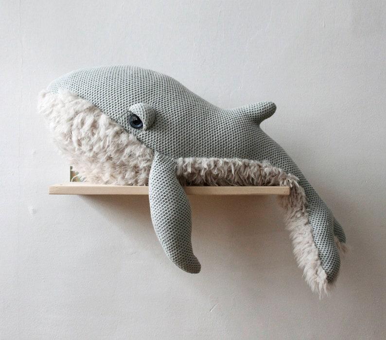 Grande Baleine Mamie - Créatrice ETSY : BigStuffed