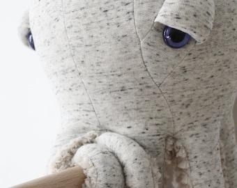 Big Original Octopus - Handmade Plush toy