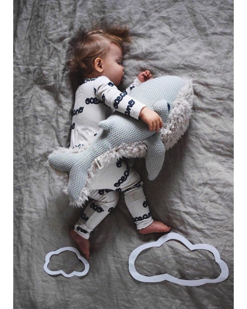 Petite Baleine Mamie - Créatrice ETSY : BigStuffed